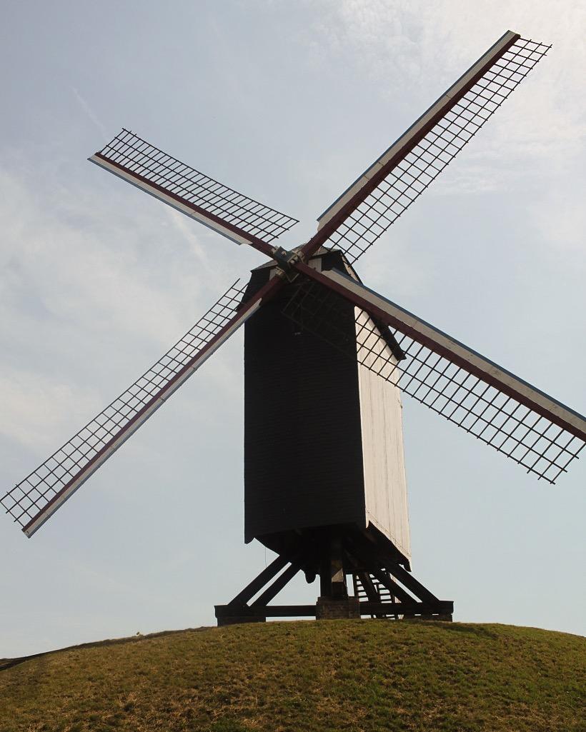 Windmill east Bruges