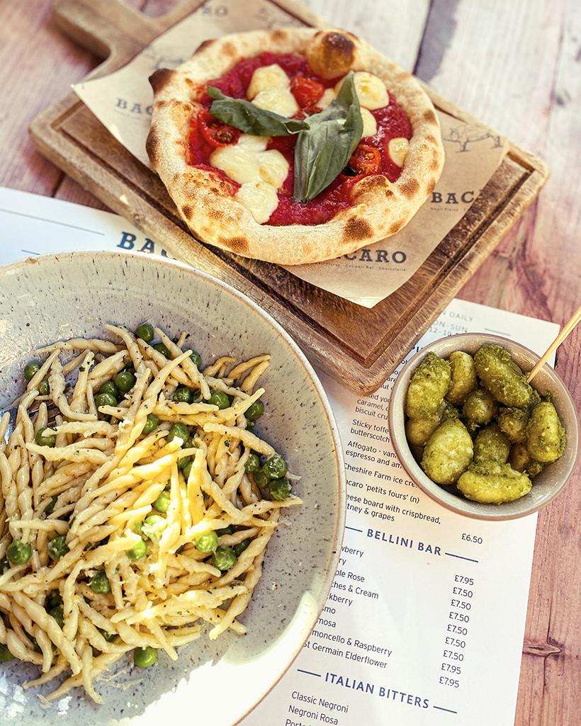 Bacaro Italian tapas: pizette, gnocchi and pasta