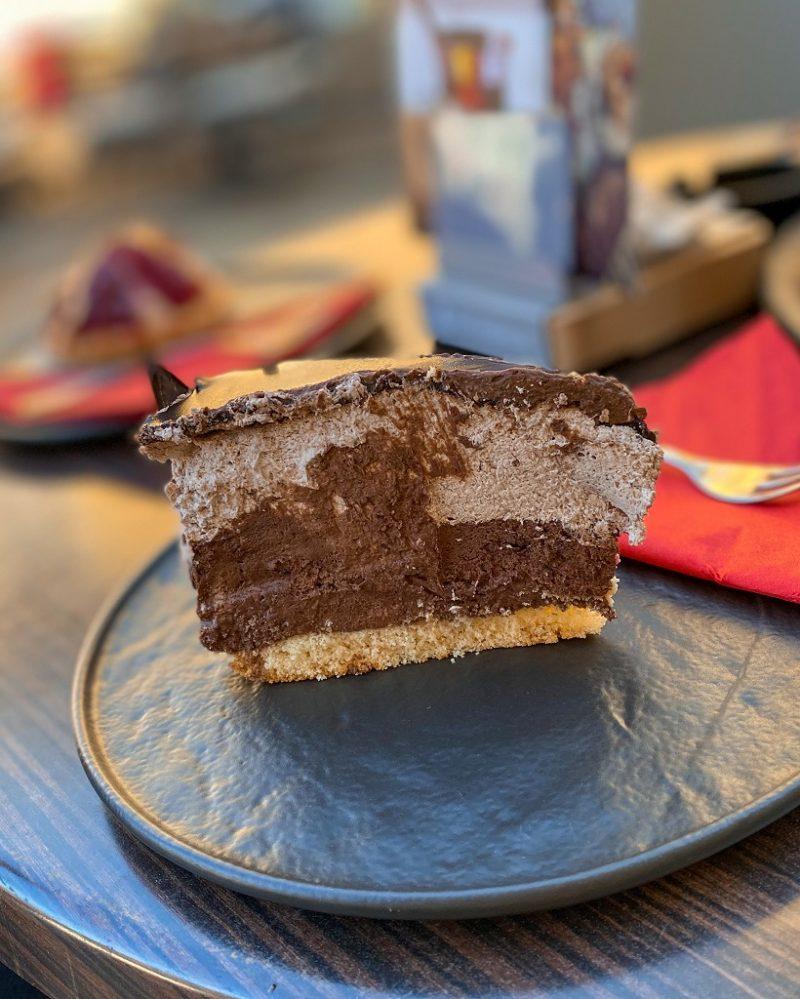 Kranjska Gora chocolate cake