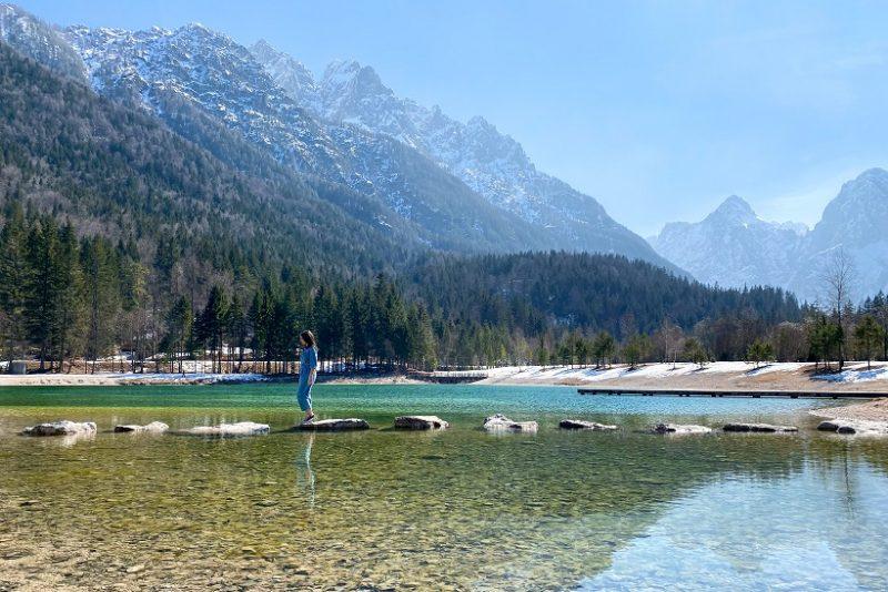 Lake Jansa Slovenia