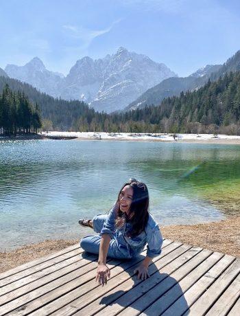 Wander with Laura at Lake Jansa