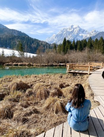 Wander with Laura at Lake Zelenci