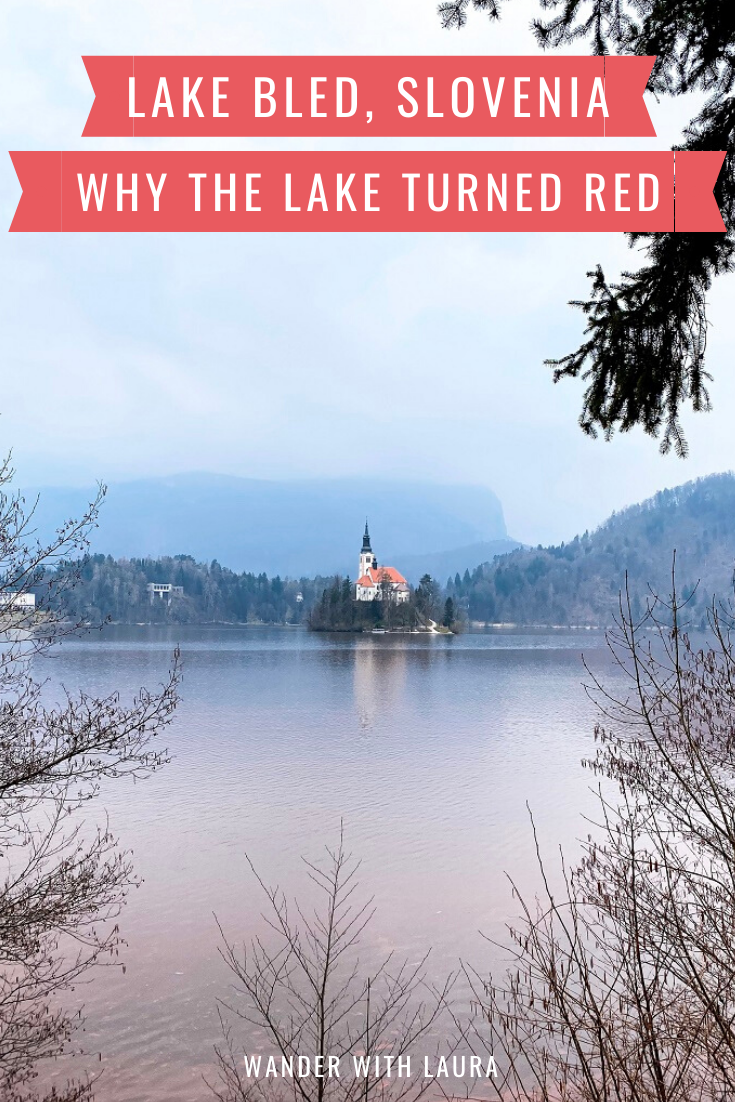 Why Lake Bled turned red
